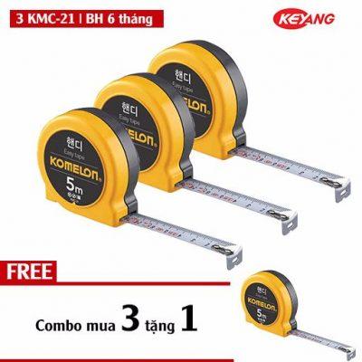 Combo thước dây KMC-21 5m