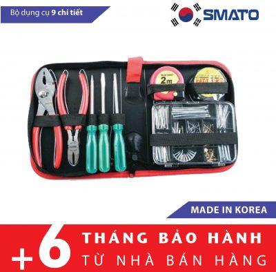 Bộ dụng cụ đa năng 9 chi tiết Smato Hàn Quốc