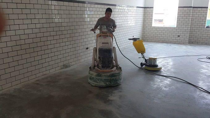Sử dụng máy mài sàn bê tông an toàn