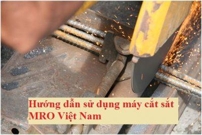 sử dụng máy cắt sắt an toàn