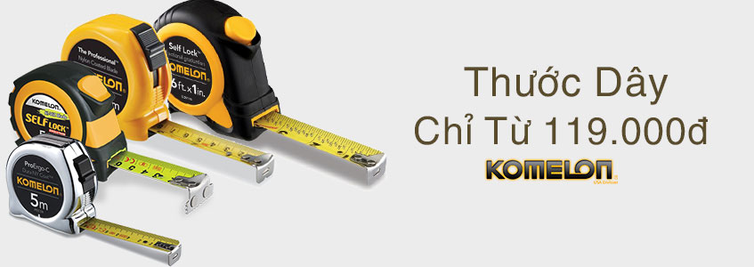 khuyến mãi thước dây, thước đo komelon 1- 2018
