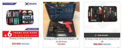 bộ dụng cụ sửa chữa điện nước