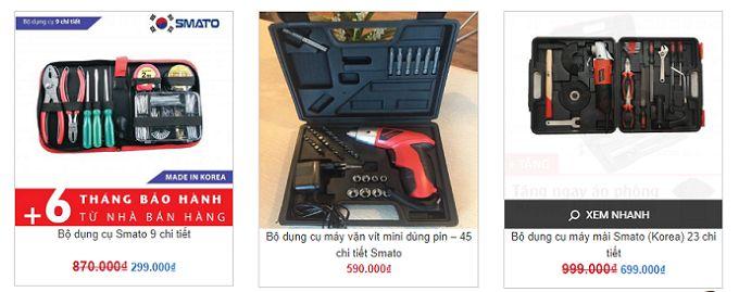 Bộ dụng cụ sửa chữa gia đình của Hàn