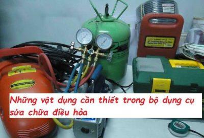 Bộ dụng cụ sửa chữa điều hòa