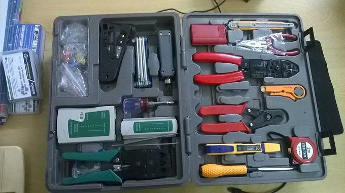 Bộ dụng cụ sửa chữa mạng