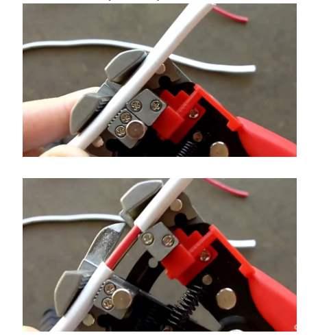 cách tuốt vỏ dây điện