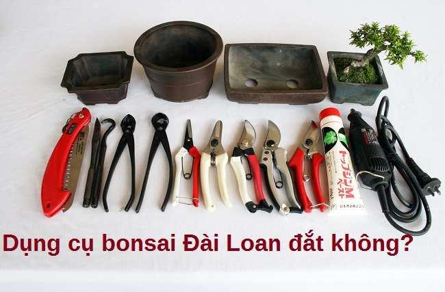 dụng cụ bonsai Đài Loan