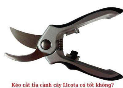kéo cắt tỉa cành cây Licota có tốt không?
