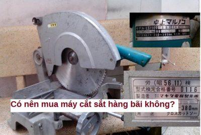 máy cắt sắt hàng bãi