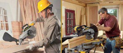 máy cưa gỗ trong xưởng mộc