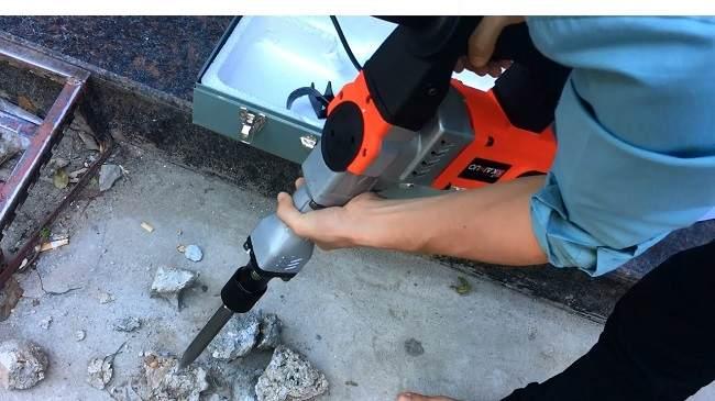 máy đục bê tông tại Hà Nội