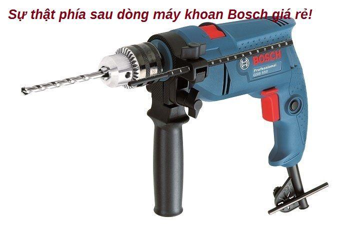 Máy khoan Bosch giá rẻ