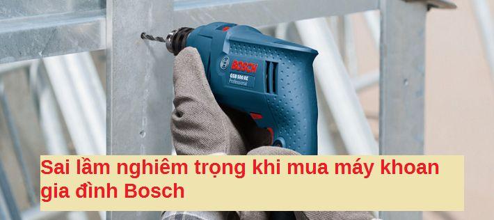 máy khoan gia đình Bosch