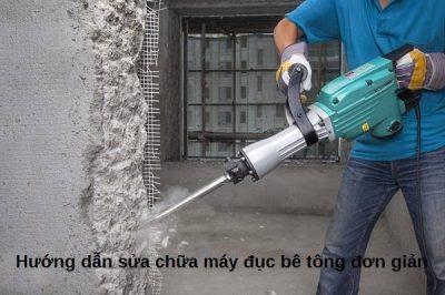 sửa chữa máy đục bê tông