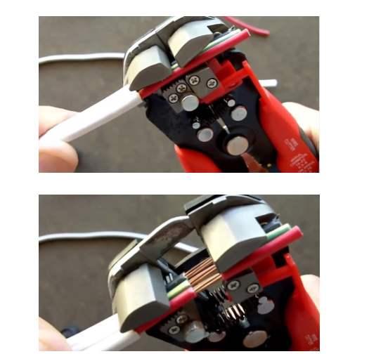 cách tuốt dây điện